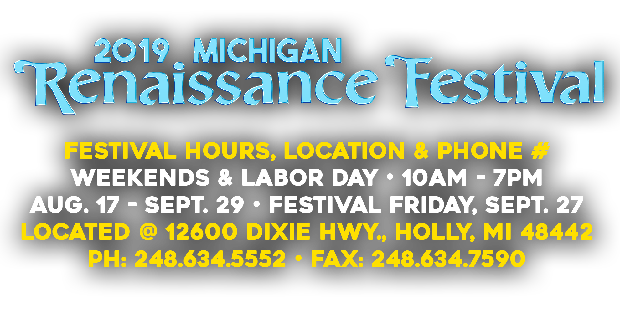 Michigan Renaissance Festival – 16th Century Festival